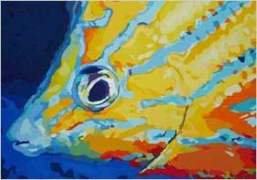 Blaustreifen-Falterfisch