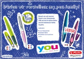 Herlitz my.pen you-Anzeige 2011