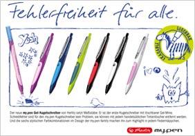 Herlitz my.pen Kugelschreiber Anzeige
