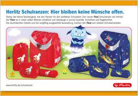 Herlitz Ranzen Anzeige
