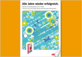 Projektbeschreibung zu Herlitz Kalender Katalog