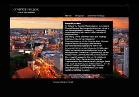 zum Projekt www.comvest-holding.de