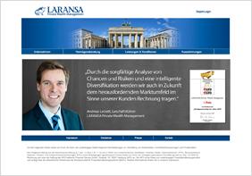 zum Projekt www.laransa.de